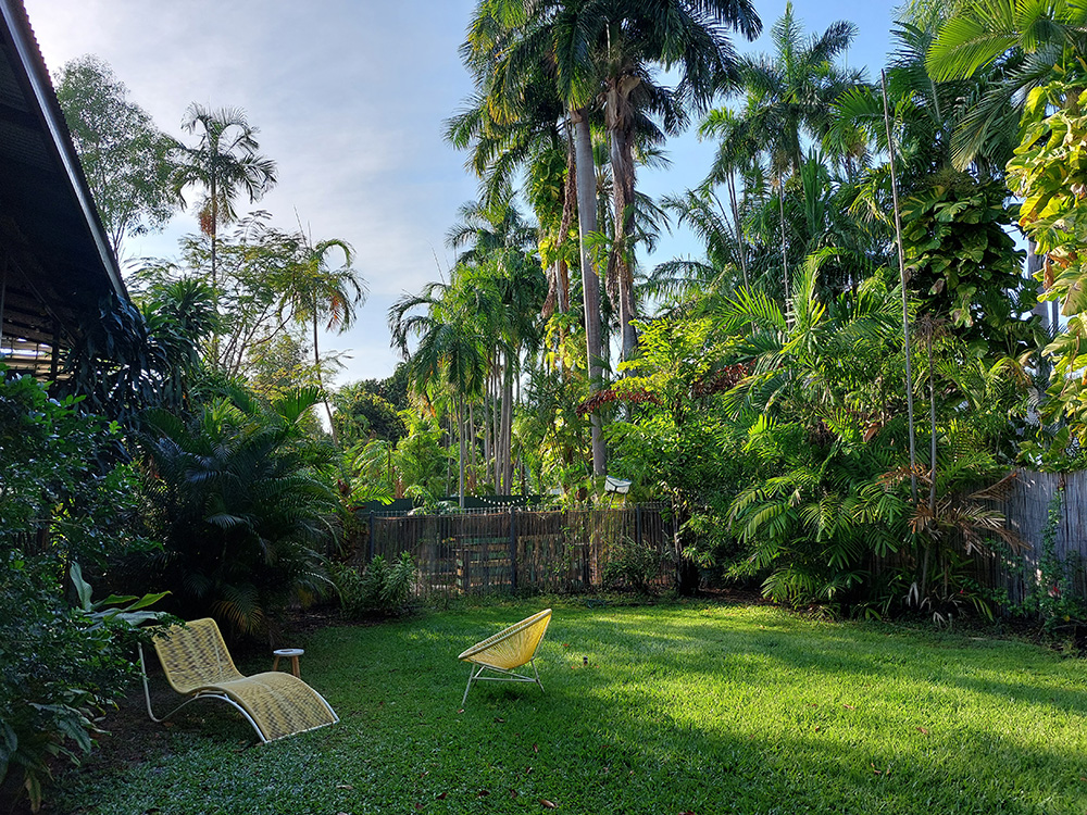 Onze tuin in Darwin