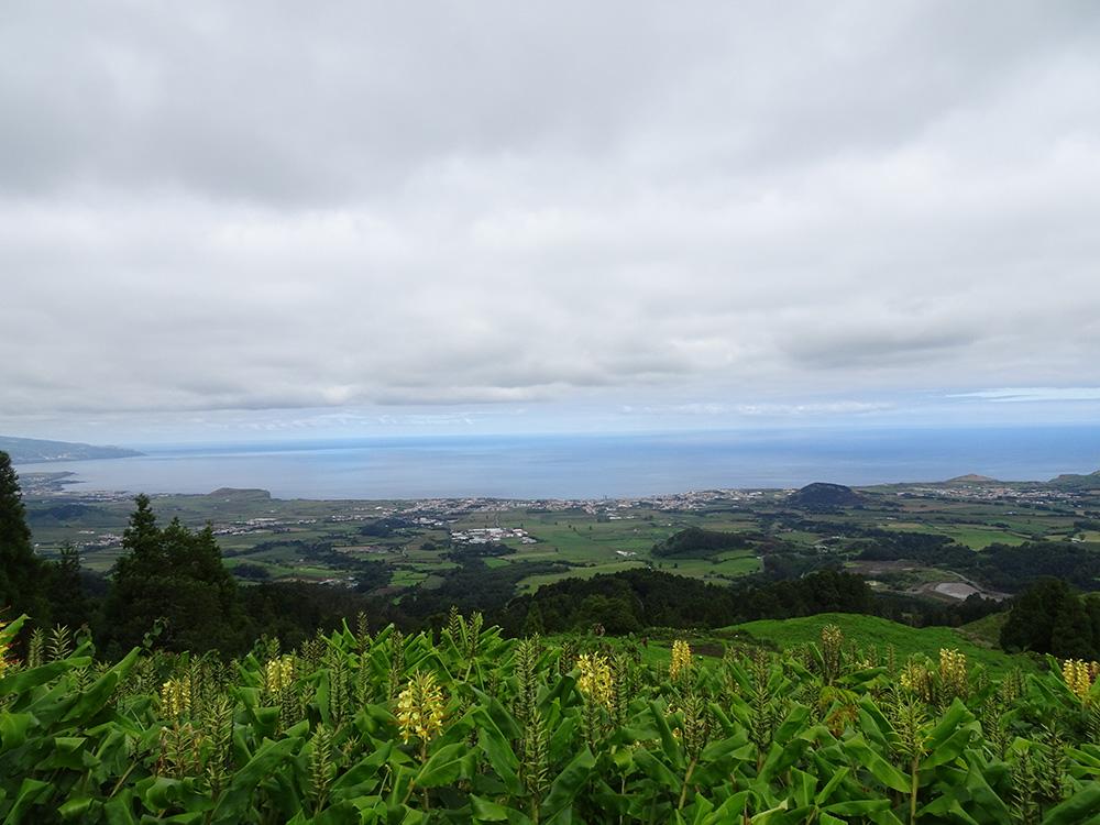 Bela vista op São Miguel zonder mist