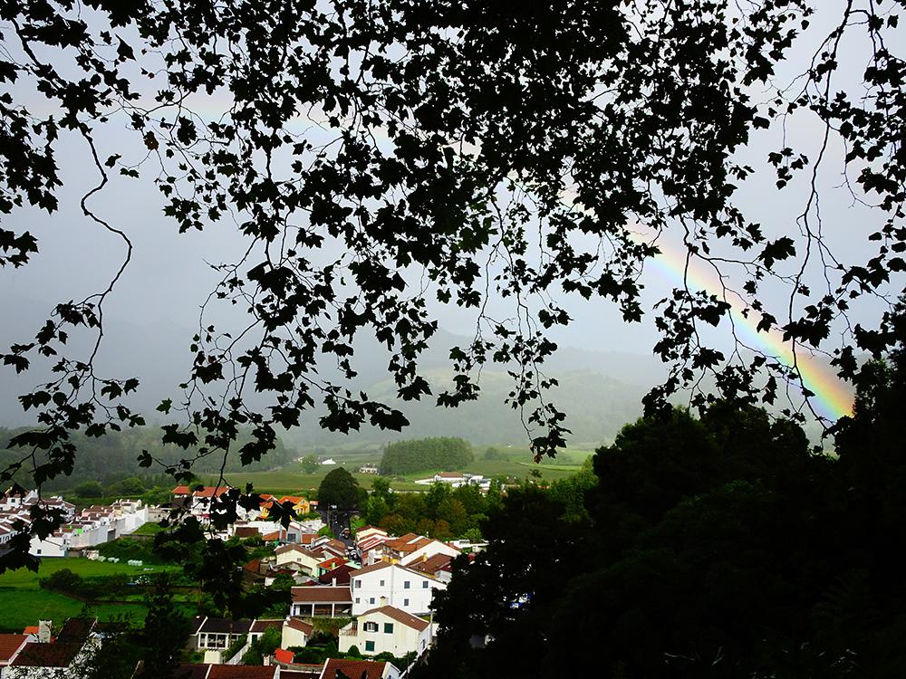 Overal regenbogen op de Azoren