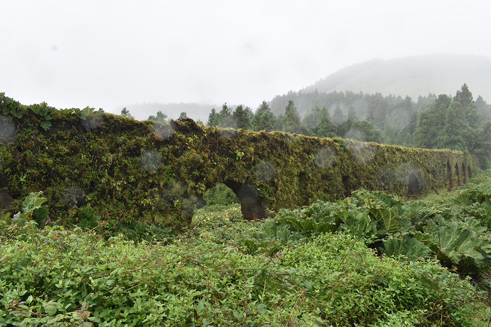 Regen, de realiteit op de Azoren