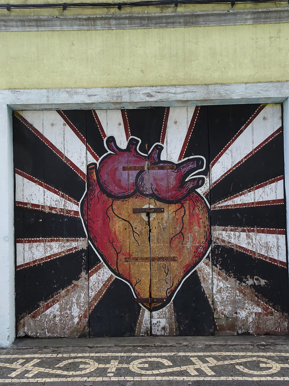Streetart in Ponta Delgada